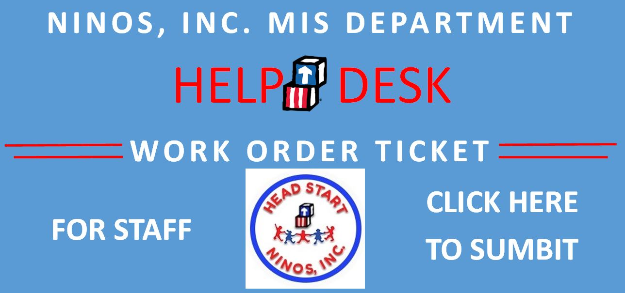 MIS Dept. Work Order Ticket